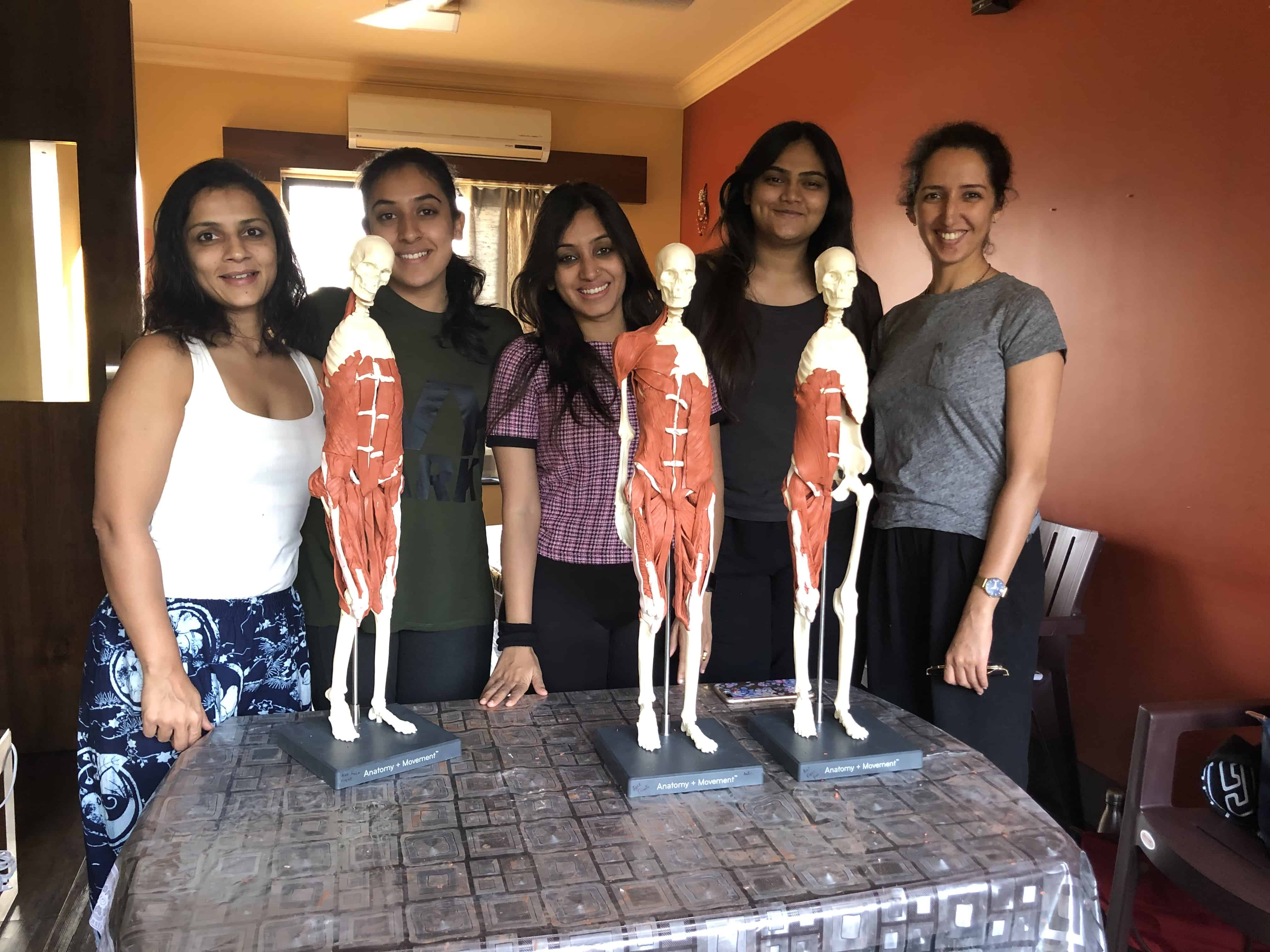 Balanced Body's Anatomy in Three Dimensions Course Pune Pilates